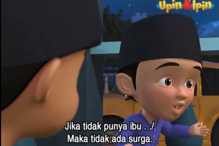 Deretan Video Lelucon Fizi 'Upin-Ipin' yang Dinilai Dark Jokes