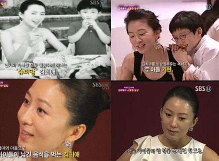 Diselingkuhi di Drama, Ini 10 Momen Bahagia Kim Hee Ae & Suami Asli