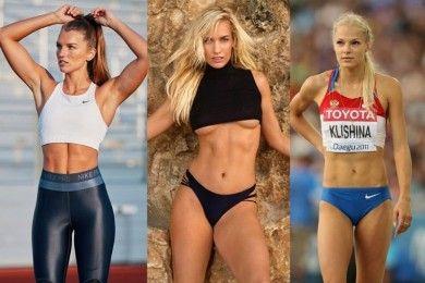 10 Atlet Perempuan Pu Tubuh Seksi, Nggak Ha Jago Olahraga