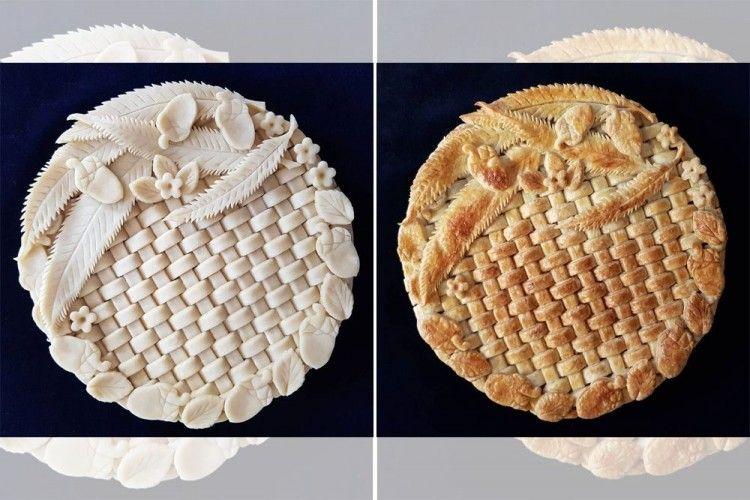 Cantik, 10 Pie Ini Dibuat dengan Detail Artistik nan Mengagumkan