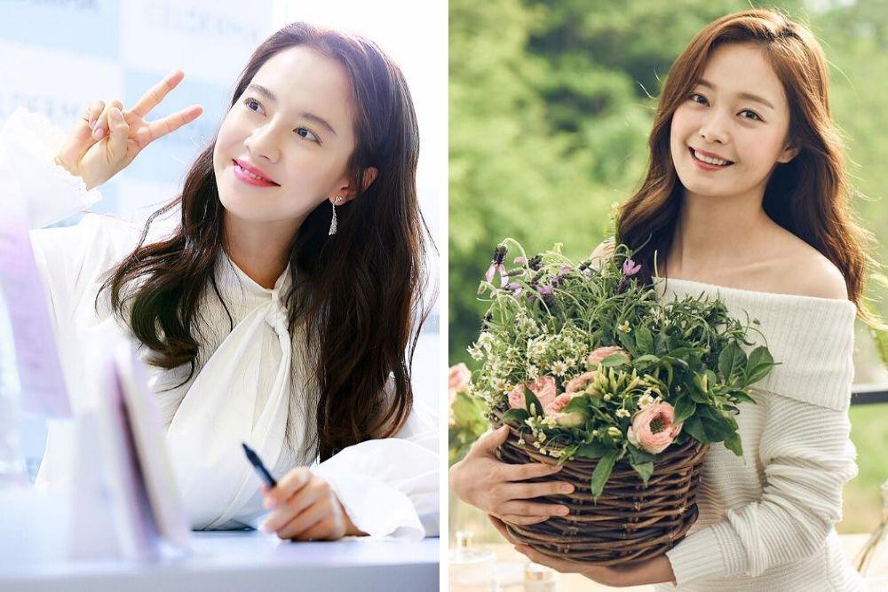 Begini Kompaknya Riasan Song Ji Hyo danJeon So Min