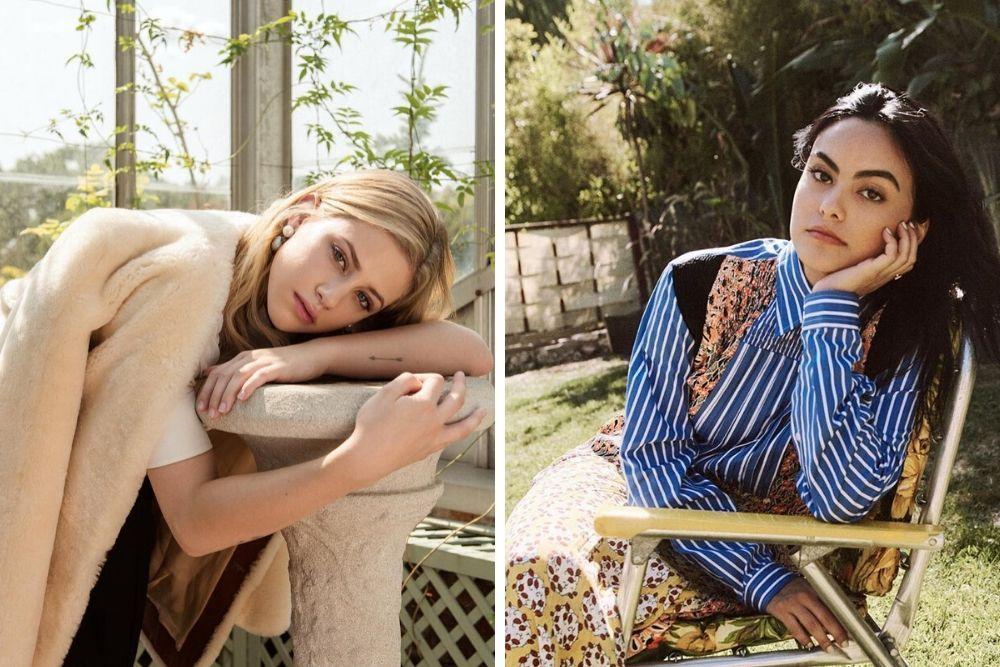 Bersahabat, Ini Perbandingan Riasan Lili Reinhart dan Camila Mendes