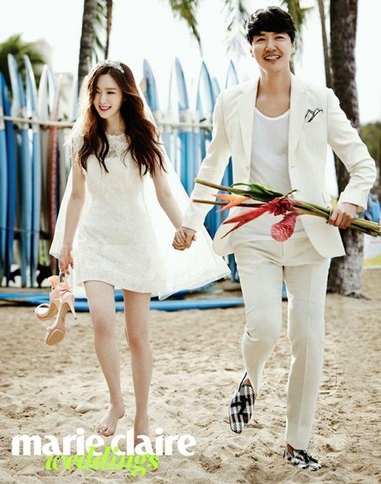 Romantis! 9 Foto Pre-Wedding Artis Korea Ini Bikin Meleleh