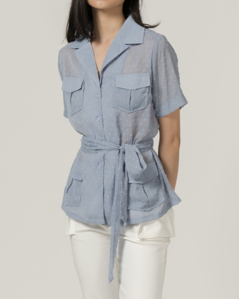 #PopbelaOOTD: Rekomendasi Baju Biru dari Brand Lokal