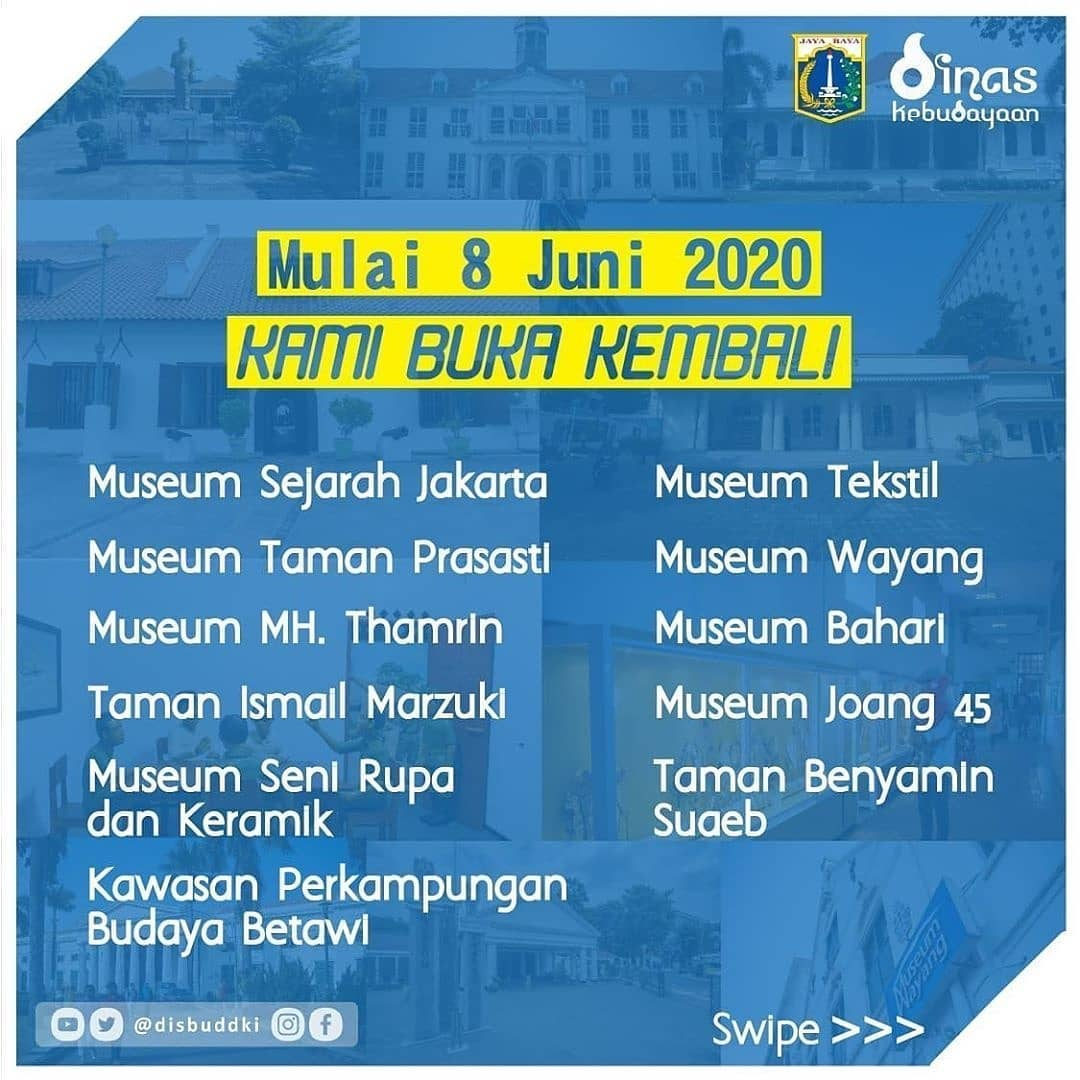 Sambut New Normal, Ini Jadwal Buka Lokasi Wisata di DKI Jakarta