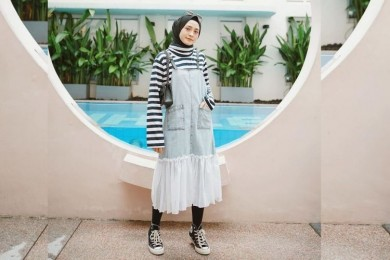Tips Mengenakan Legging Pemakai Hijab