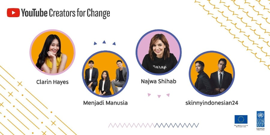 YouTube Mendapuk Skinnyindonesian24 Sebagai Creators for Change 2020