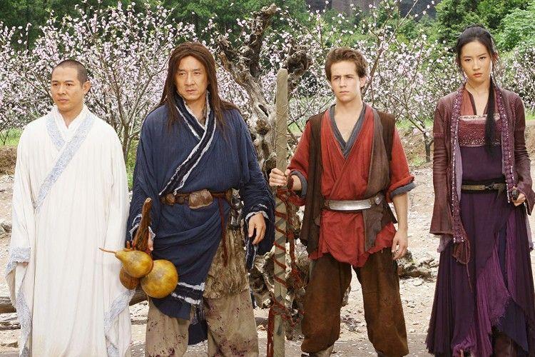 Duet Maut Jackie Chan-Jet Li, Ini Sinopsis 'The Forbidden Kingdom'