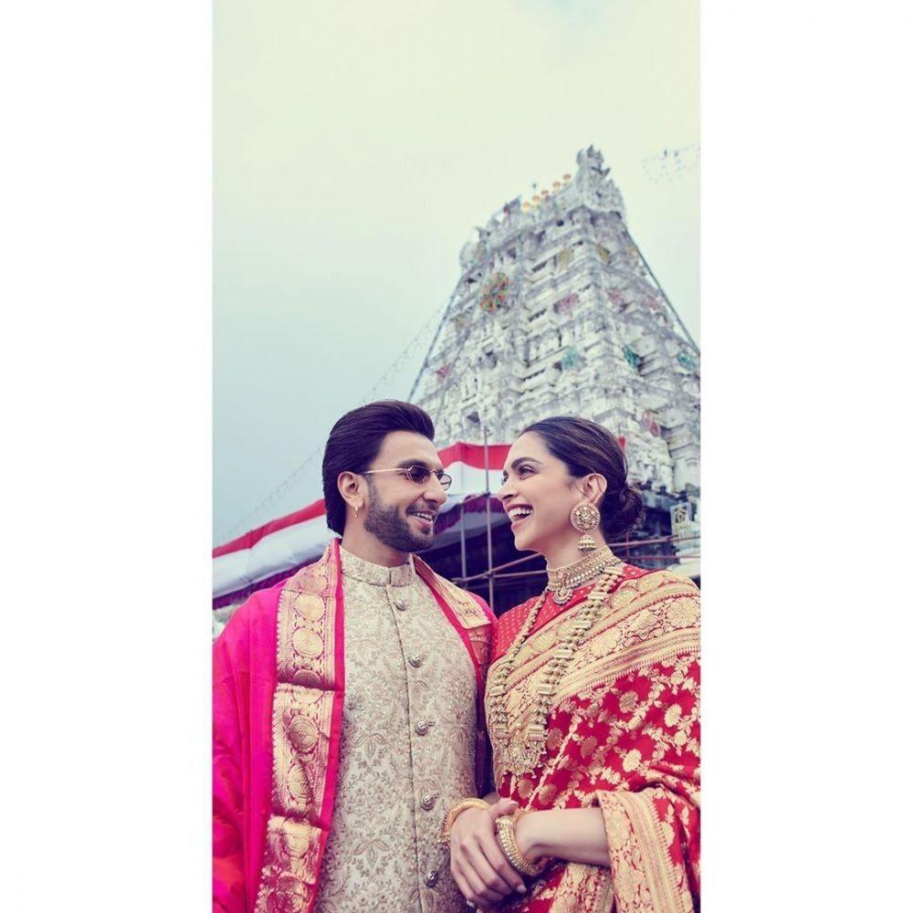 10 Potret Harmonisnya Pernikahan Deepika Padukone dan Ranveer Singh