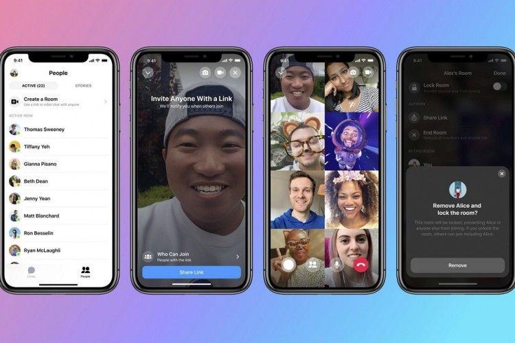 Dulu Snapchat, Kini Instagram Rilis Video Conferencing yang Ancam Zoom