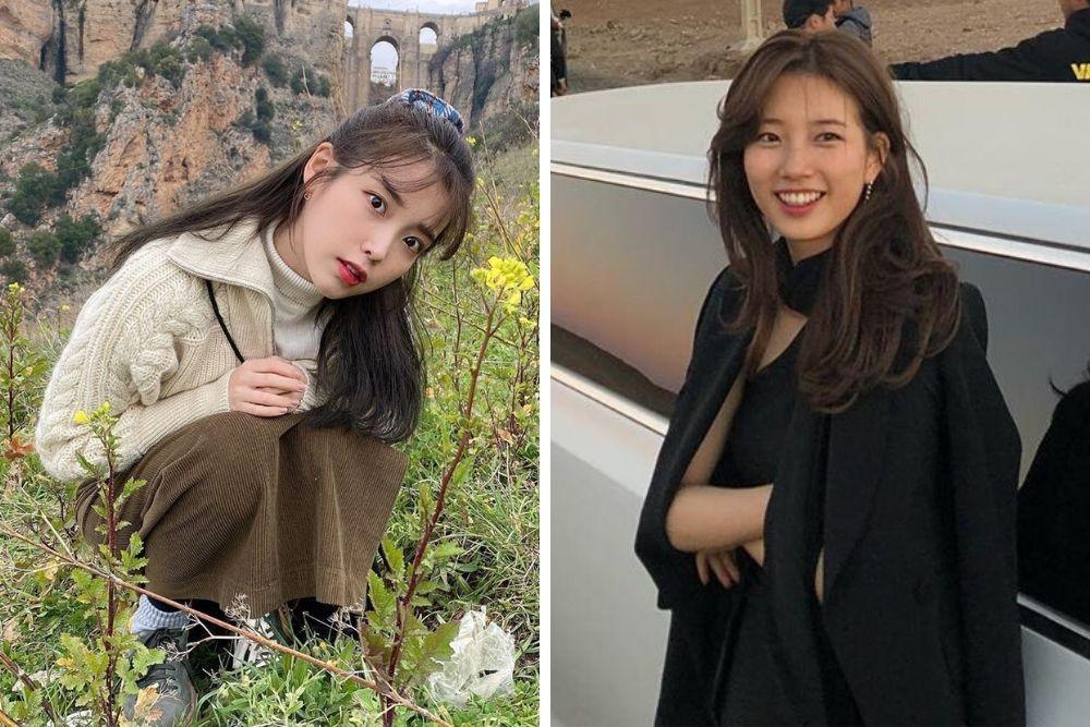 Sedang Berada di Puncak Popularitas, Ini Adu Riasan IU vs Bae Suzy