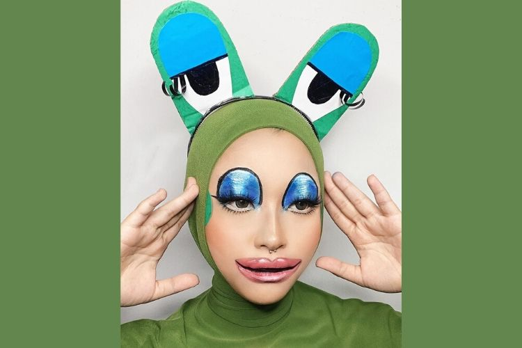 Keren Abis! Ini 7 Face Painting Keren a la Cindercella