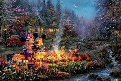 Di Tangan Pelukis, 9 Dunia Disney Ini Makin Memesona
