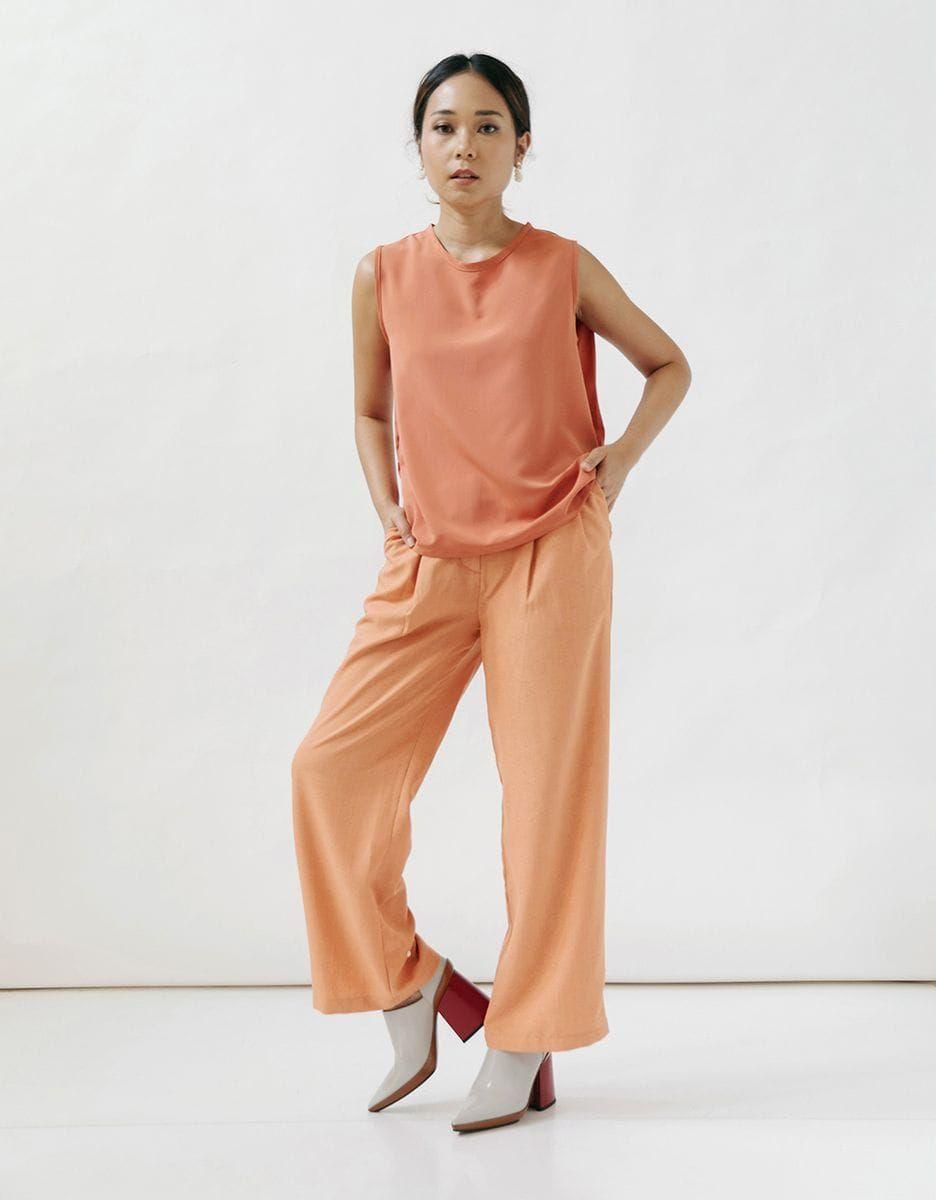 #PopbelaOOTD: Buat Harimu Cerah Seharian Pakai Baju Orange