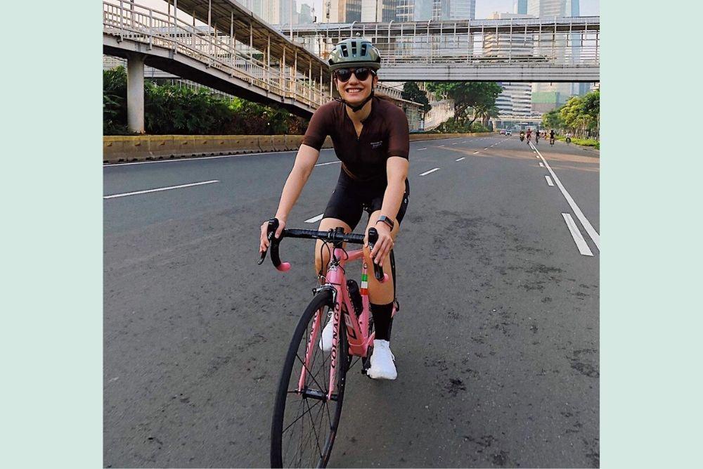 Lagi Ngetren, 7 Seleb Indonesia Ini Juga Ikut Olahraga Bersepeda
