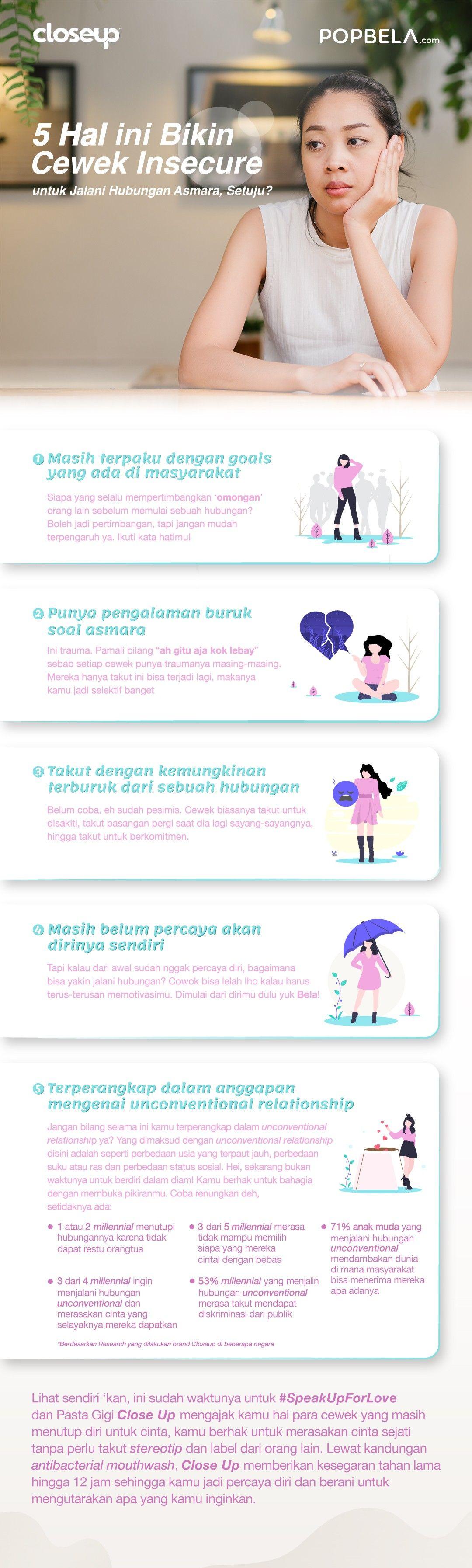 5 Hal Ini Bikin Cewek Insecure untuk Jalani Hubungan Asmara, Setuju?