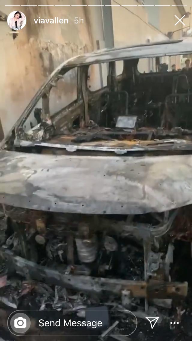 Ada Alat Perdukunan, Ini Fakta Baru Pelaku Pembakaran Mobil Via Vallen