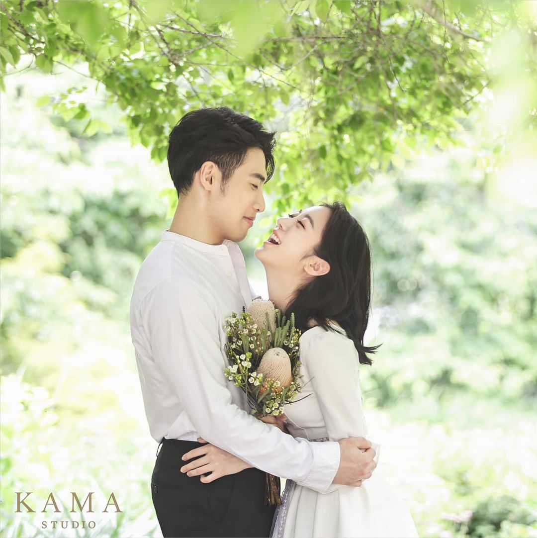 Unik! Ini Foto Pre-wedding Hye Rim eks Wonder Girls & Shin Min Chul