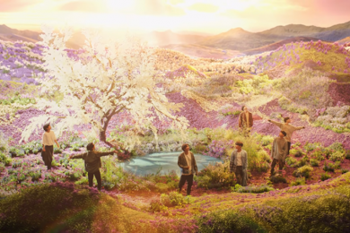 "Bukan Efek CGI, 7 Kualitas Lokasi Syuting BTS ""Stay Gold"" Menakjubkan"