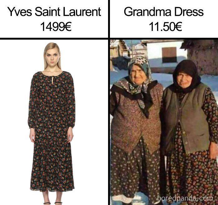 Meme Fashion Konyol yang Bikin Senyum Miris
