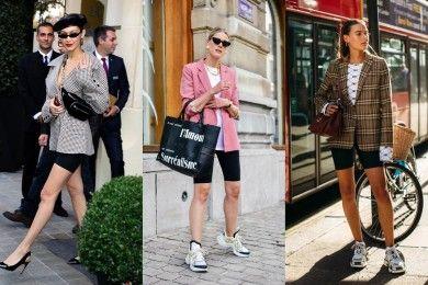 8 Cara Tampil Kece Pakai Celana Sepeda