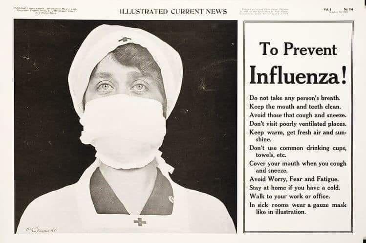 11 Foto Jadul Ini Gambarkan Keadaan Dunia Saat Wabah Flu Spanyol