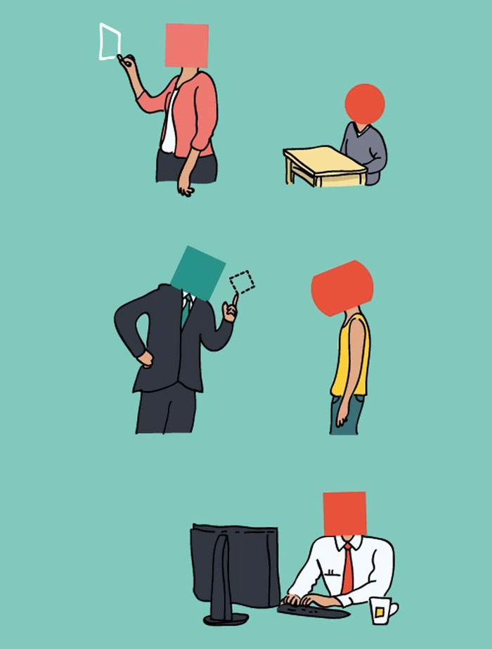 9 Ilustrasi ini Sindir Masalah di Zaman Modern