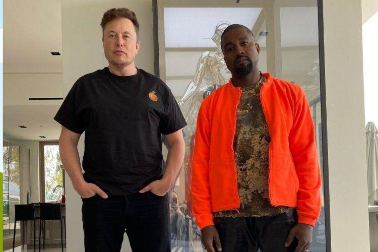 Didukung Elon Musk, Kanye West Maju Pencalonan Presiden Amerika 2021