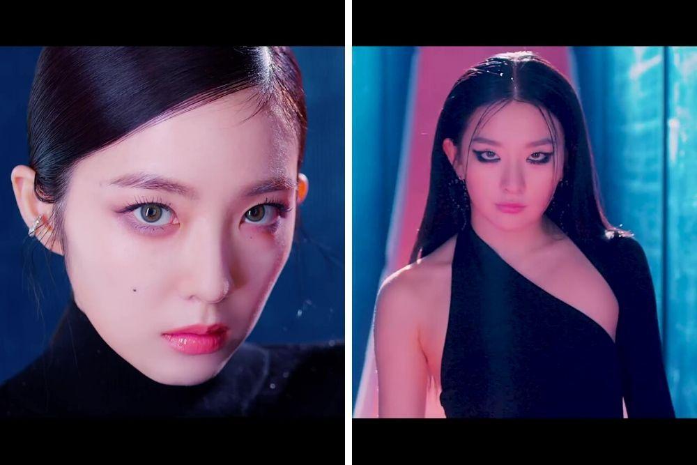 Tampil Beda, Begini Riasan Irene dan Seulgi di Music Video 'Monster'
