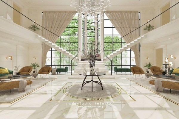 Bergaya Eropa Klasik nan Mewah, Ini 10 Potret Rumah Baru Raffi Ahmad
