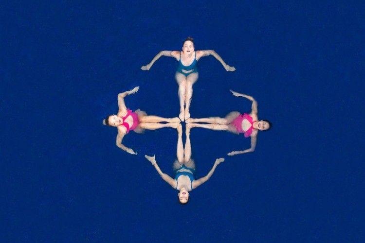 Terinspirasi Olimpiade, 10 Karya Fotografi Menggunakan Drone Ini Keren