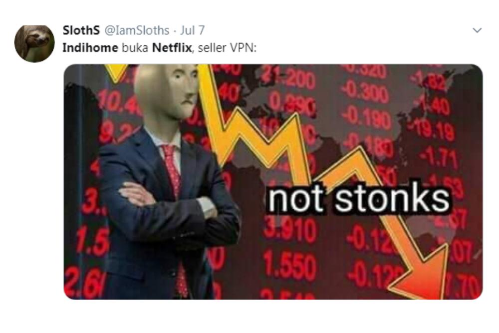 Kocak! Ini 7 Meme Lucu Pengguna Indihome Setelah Bisa Nonton Netflix