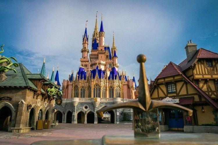Semakin Indah, Ini 7 Potret Terbaru Kastil Cinderella Pasca Renovasi