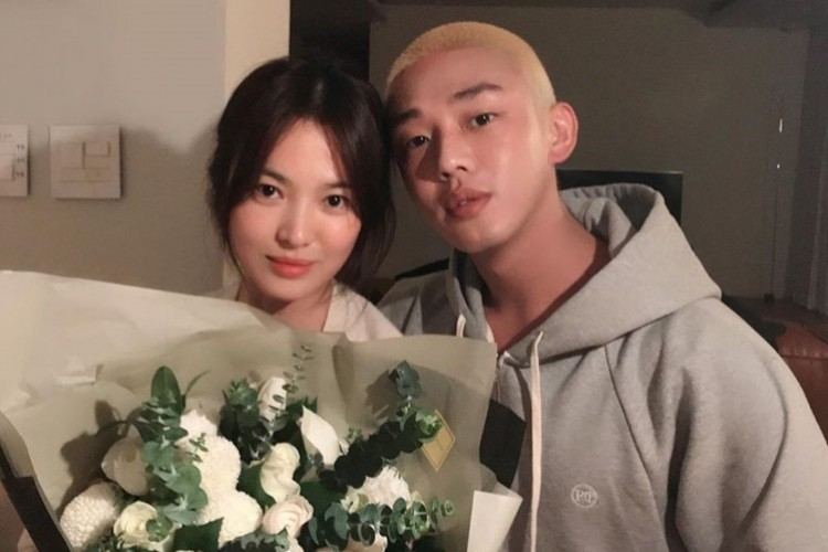 9 Potret Persahabatan Song Hye Kyo dan Yoo Ah In yang Bikin Baper