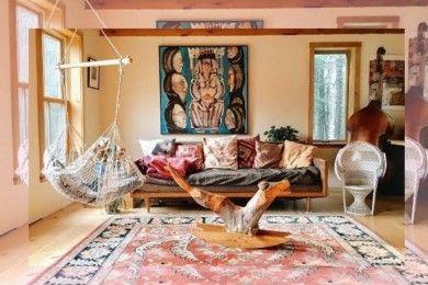 Keren Abis Ini 7 Inspirasi Dekorasi Rumah Minimalis Bergaya Bohemian