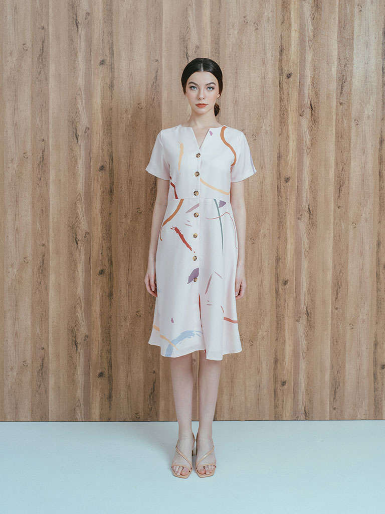 #PopbelaOOTD: Kumpulan Midi Dress untuk ke Kantor