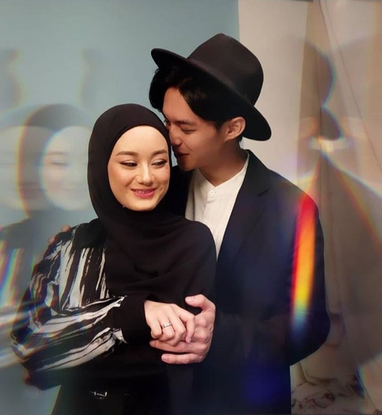 Romantis! Intip 7 Foto Post-Wedding Dinda Hauw dan Rey Mbayang