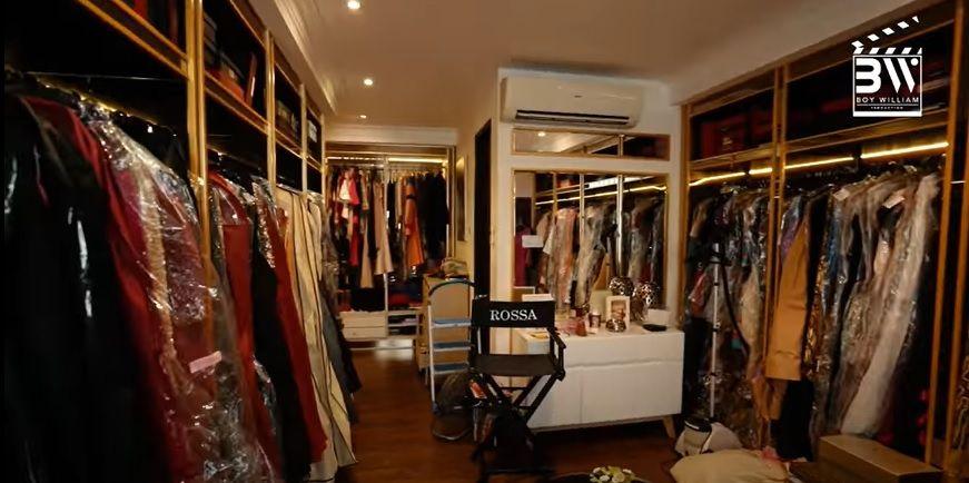 Punya 3 Walk-in Closet Besar, Inilah Kemewahan Rumah Rossa