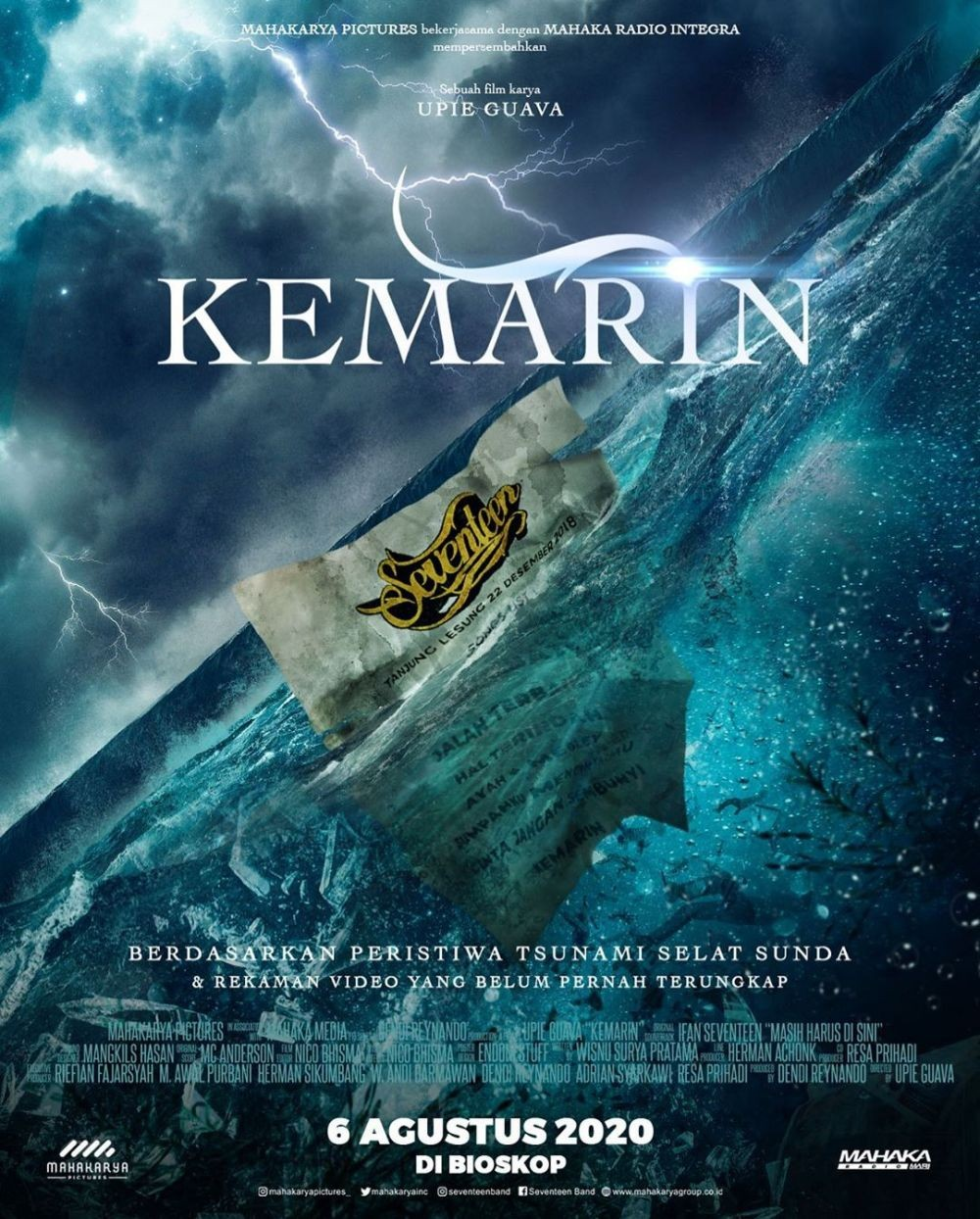 Mengenang Kembali Kejadian Tsunami Banten, Ini 10 Fakta Film 'Kemarin'
