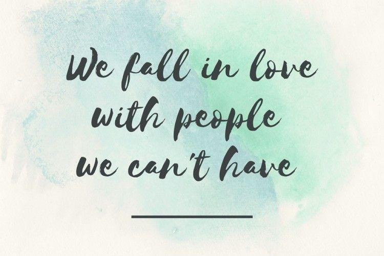 Nyesek! Ini Alasan Kenapa Kita Mencintai Orang yang Tak Bisa Dimiliki