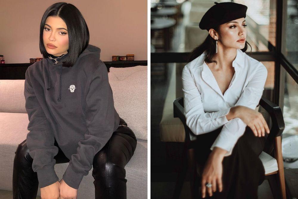 Miripnya Kebangetan, Begini Adu Riasan Kylie Jenner vs Jihane Almira
