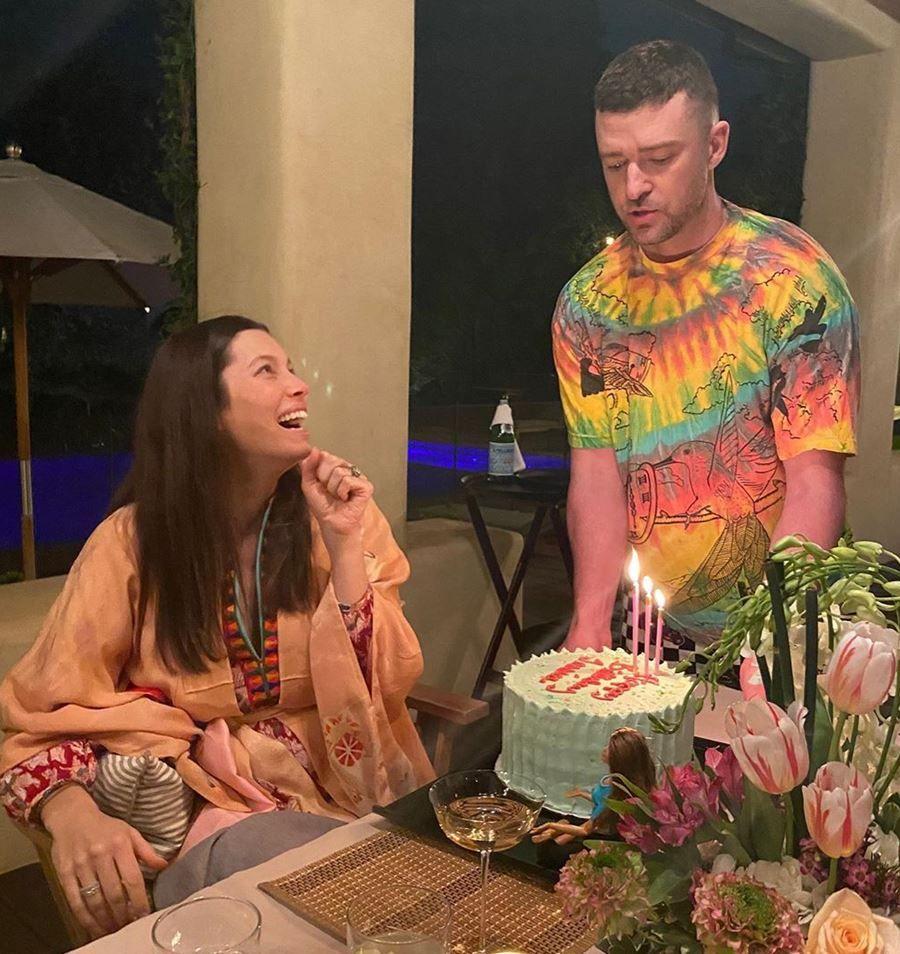 Tak Ketahuan Hamil, Jessica Biel Lahirkan Anak Kedua