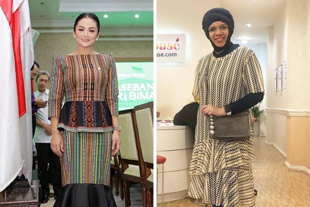 Intip 7 Adu Penampilan Ibu Aurel Hermansyah vs Ibu Atta Halilintar