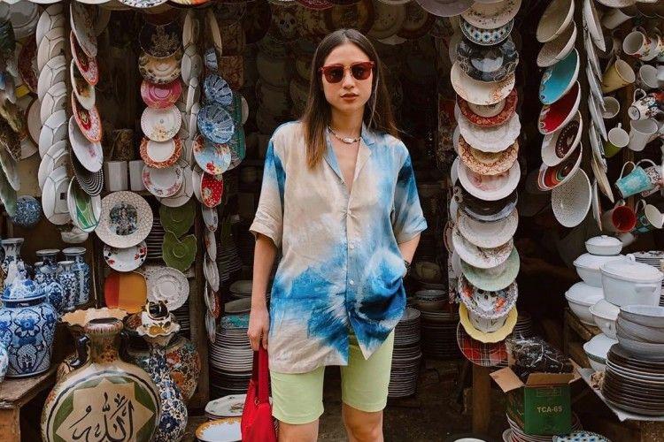 Tips Mix N Match Outfit Tie-dye a La Selebgram Indonesia