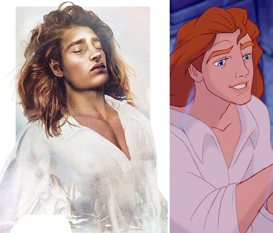 Seandainya 7 Pangeran Disney Ini Tampak di Kehidupan Nyata