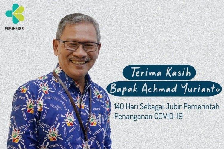 Hari Terakhir Achmad Yurianto Menjadi Jubir Penanganan Covid-19