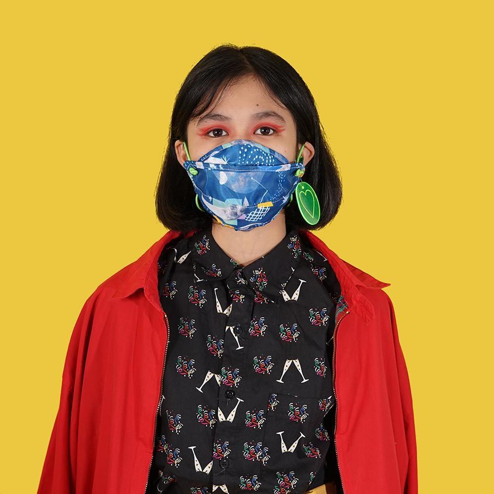 #PopbelaOOTD: Kumpulan Masker Motif Paling Trendi dari Brand Lokal