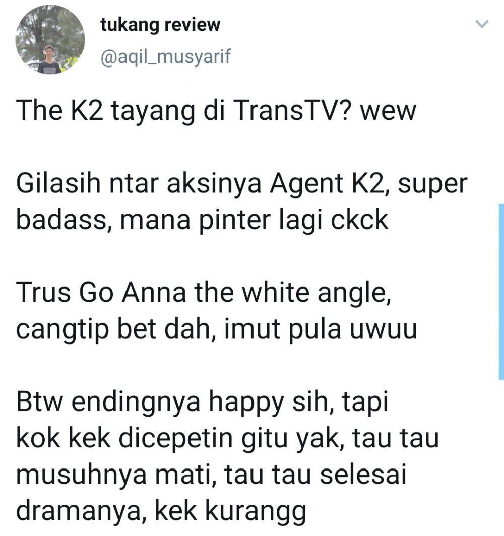 Serial 'The K2' Tayang di TV, Ini Reaksi Kocak Para Netizen di Medsos