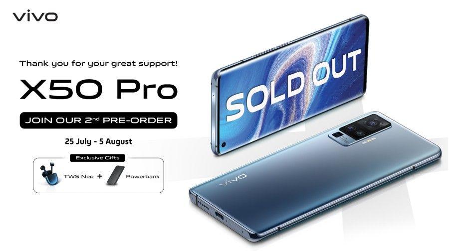 Laris Manis, vivo X50 Series Kini Dijual Perdana Mulai Hari Ini