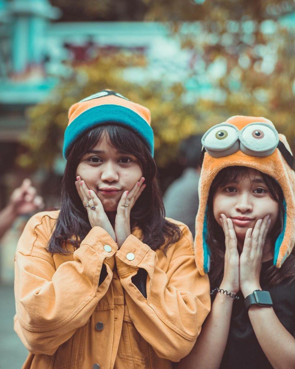 Bikin Gemas! 10 Potret Persahabatan Brisia Jodie dan Gritte Agatha
